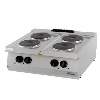 Surface electric cooker with four hotplates