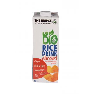 Rice drink Almond BIO1000ml (gluten gree)