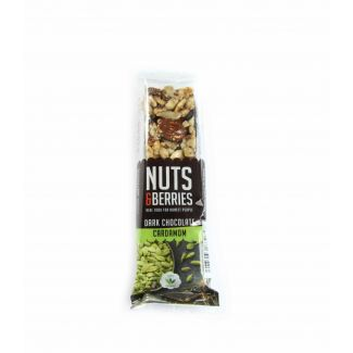 Bar with dark chocolate and cardamom BIO 40g