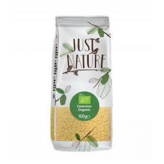 Organic couscous 400g JUST NATURE