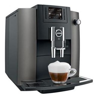 Coffee machine Espreso JURA E6 dark inbox