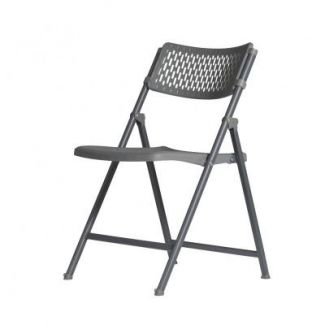 Chair 50x52 cm h-81 cm foldable grey