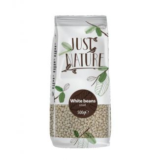 White small beans 500g JUST NATURE