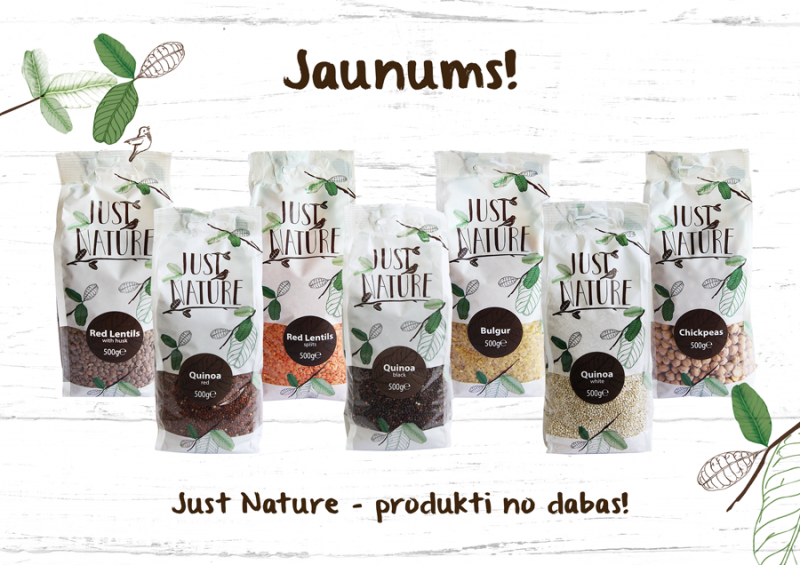"""Just Nature"" -produkti no dabas"