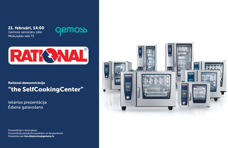 We invite you to a professional equipment demonstration on February 21st
