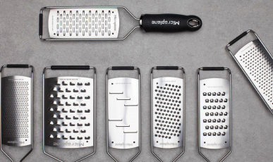 Unique Microplane graters and a chef's experience using them