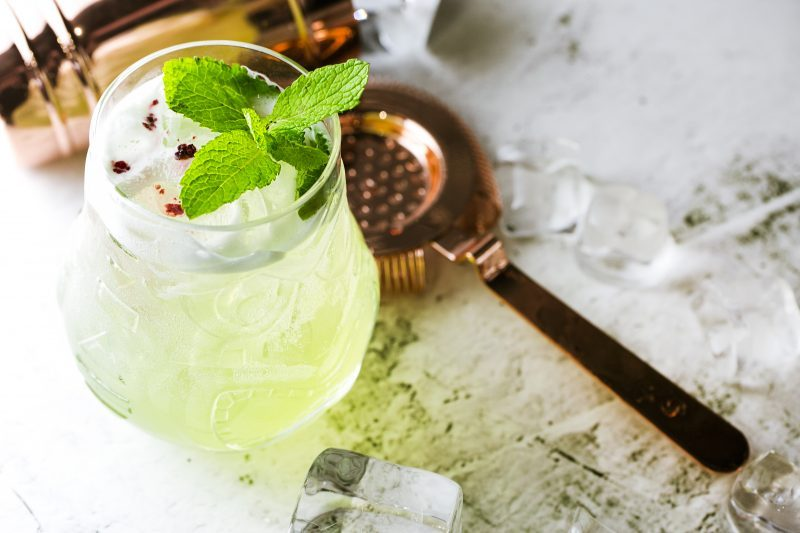 Non-alcoholic cocktail GREEN MILE