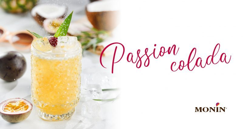 "Cocktail ""Passion Colada"""