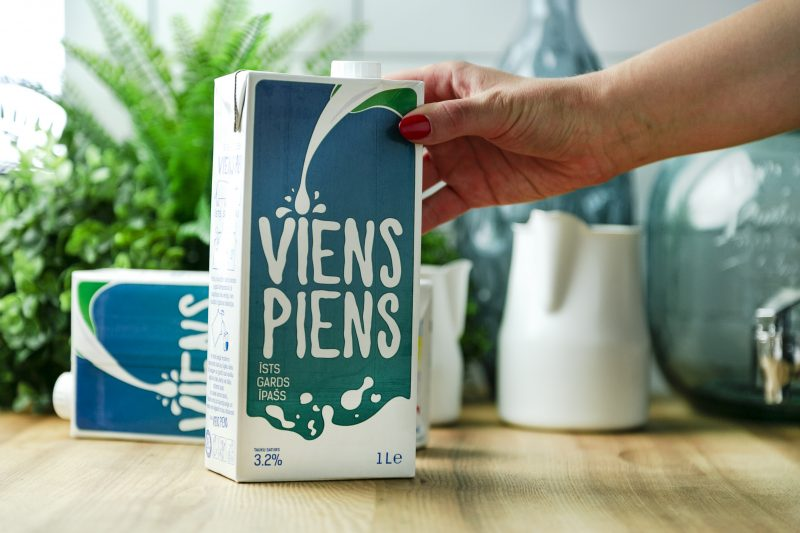 Viens Piens – natural product for preparing coffee drinks