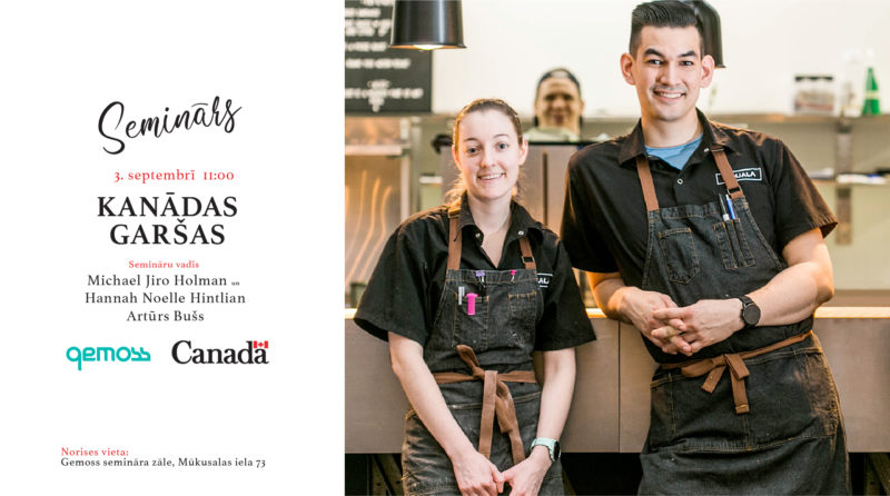Introduction to Canadian Flavours – seminar for new discoveries
