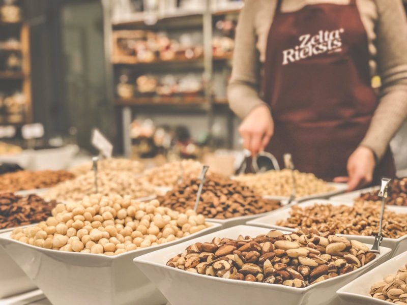 The traditional Nut Market is open at the Gemoss store