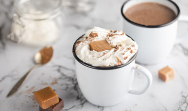 Hot drinks for a Christmas mood
